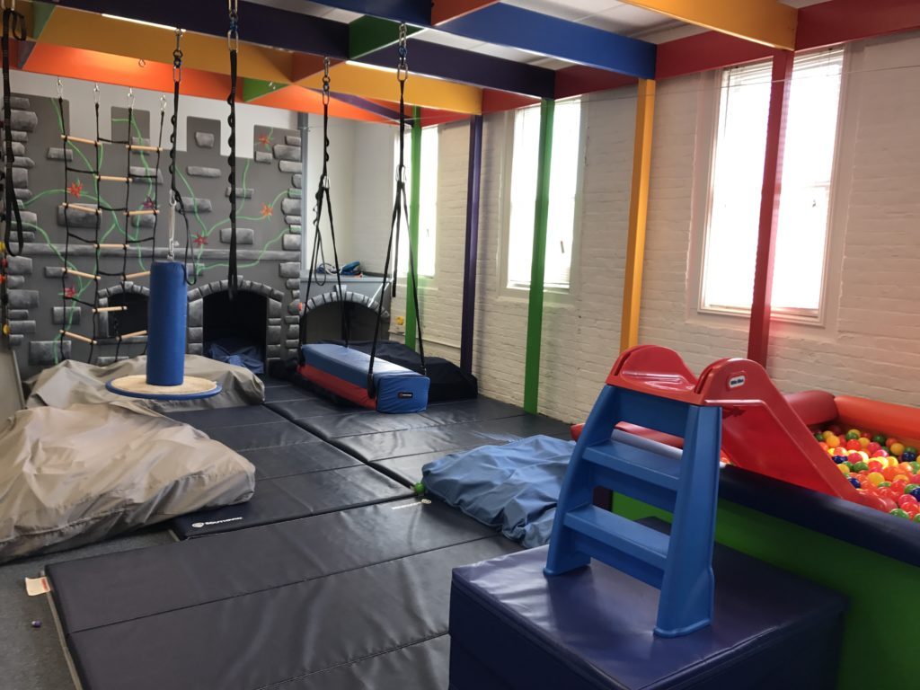Great Kids Place—our state of the art sensory gym