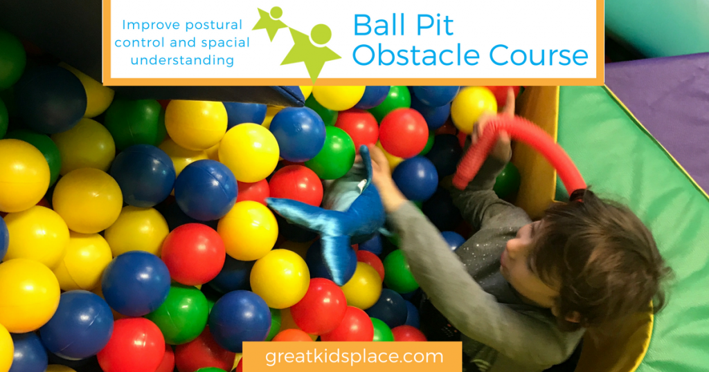 Great Kids Place in Rockaway, NJ - Ball Pit Obstacle Course